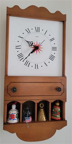 Welby Clock with Bells