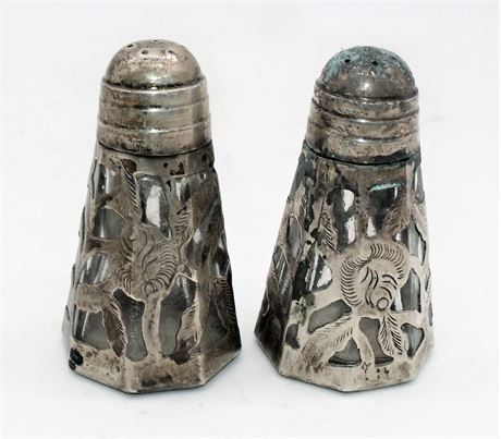 Sterling silver shakers