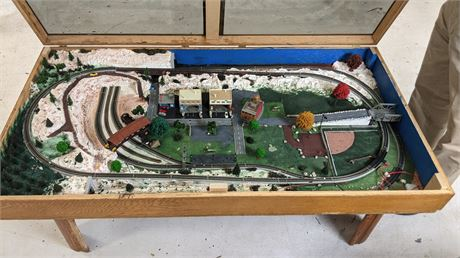 Handmade Model Train Display N Scale