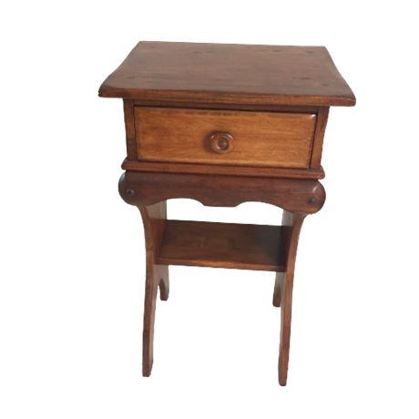 Vintage Maple Nightstand/Telephone Table