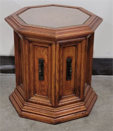 Nice end table with storage