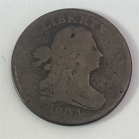 1804 Half Cent US Coin