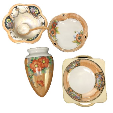 Lot of Miscellaneous Japanese China & Porcelain