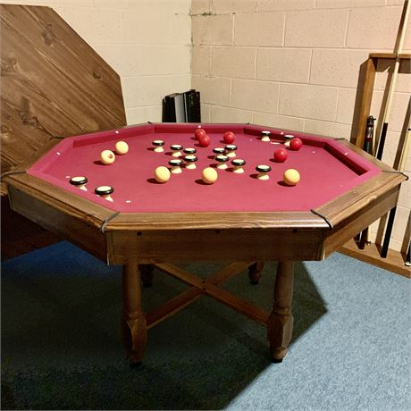 """3 in 1 Bumper Pool Combination Table 51"""""""