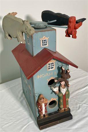 Musical Bird House Noah's Ark