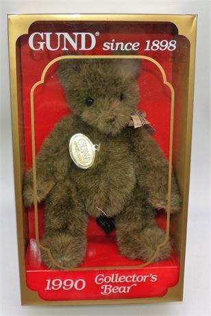 1990 GUND bear in box