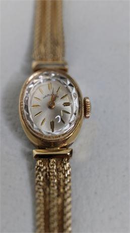 Ladies Hamilton 14K Watch