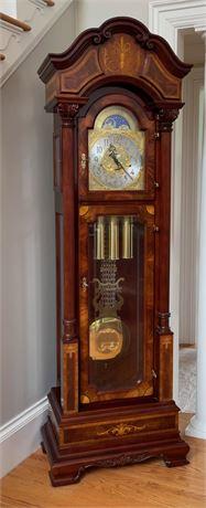 Sligh Tall Case Grandfather Clock