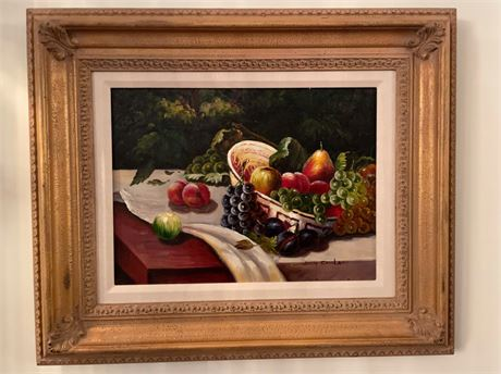 Pair of Still Life Paintings by Judy Fairledy