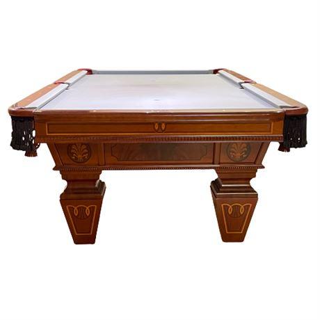 Brunswick  Billiards 'Besinger' Mahogany Pool Table