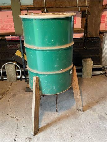 Deer Feeder Barrel