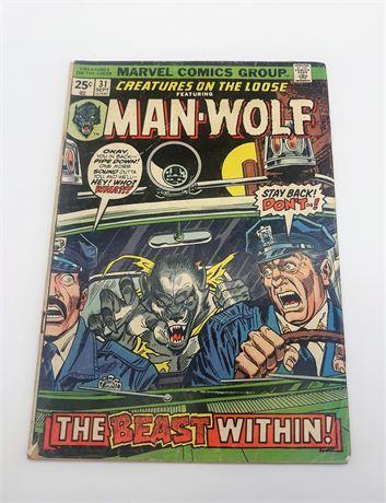 "Marvel Comics ""MAN-WOLF"" #31 Comic"