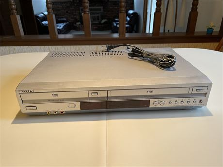 Sony DVD and VCR Player, Not Tested