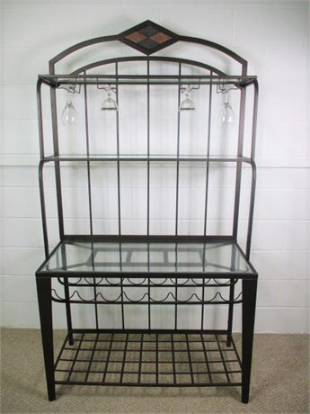 Wine Baker's Rack