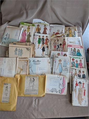 1960's Sewing Patterns