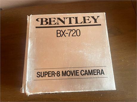 Bentley BX720 Super 8 Movie Camera