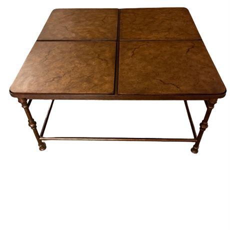 Flexsteel Iron & Tile Coffee Table