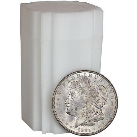 ORIGINAL ROLL Uncirculated BU 1921-P MORGAN SILVER DOLLARS 20 Coins
