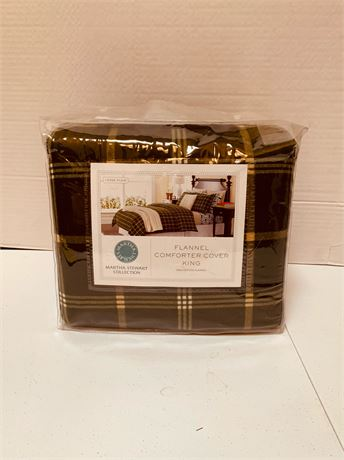 King size flannel sheets- new