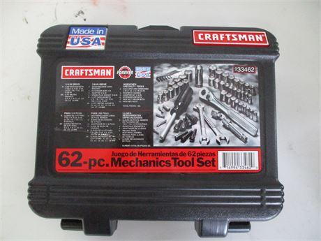 Craftsman 62-piece Mechanics Tool Set