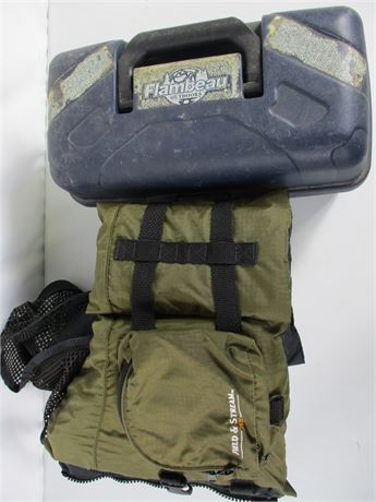Field & Stream Fishing Vest & Tackle Box