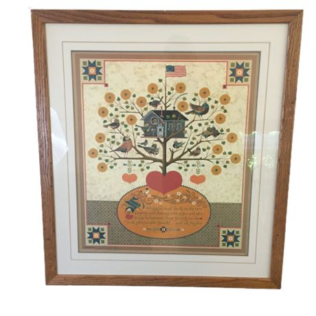 """Signed/Numbered Wysocki Print """"Merrymakers' Serenade 82/1250"""