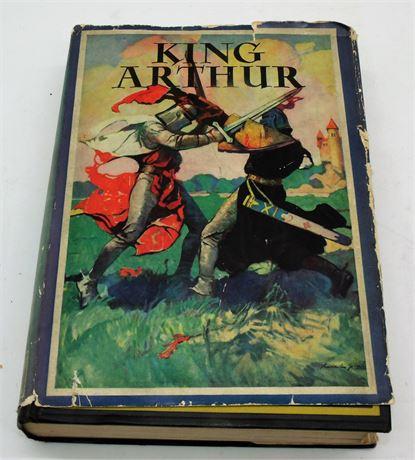 1932 Hardback KING ARTHUR book