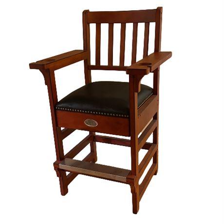 Spencer Marston Billiards Co. Billiards Chair