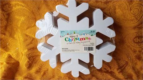 Craft snowflakes, new