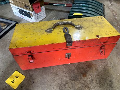 Snap on Tools Vintage Tool Chest