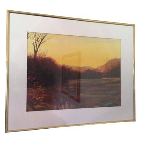 Autumn Marsh Print - Geric