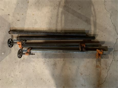 Pipe Clamps- adjustable