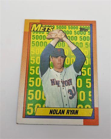 Nolan Ryan New York Mets Topps #2 Baseball Card