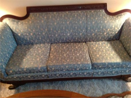American Galleries Duncan Phyfe Style Sofa