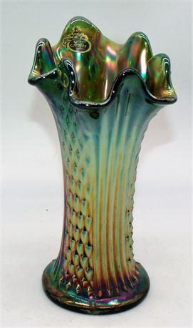 Fenton Carnival glass Vase