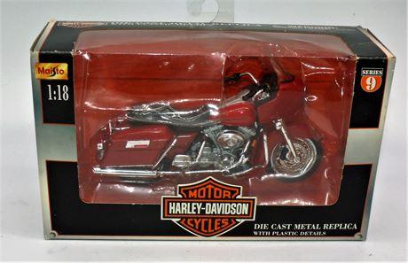 Harley Davidson Die cast motorcycle