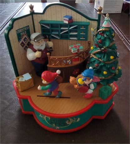 Christmas Tradirions Animated Musical North Pole Post Office