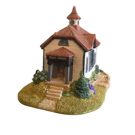 Lilliput Lane Landmarks - Small Town Library