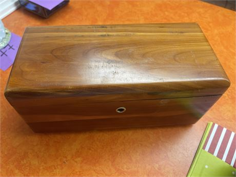 Lane Cedar Chests Altavista, VA and Mother's Guidance framed art