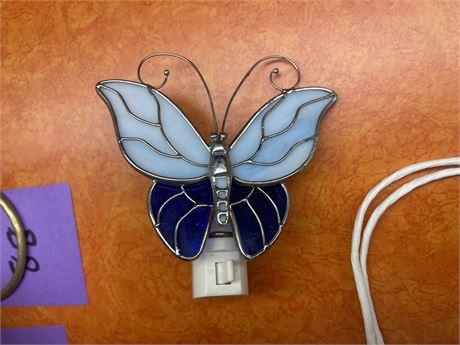 Leaded Butterfly Night Light
