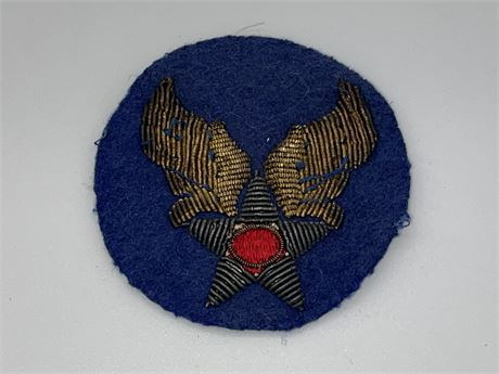 WW2 US AAF Headquarters - Tinsel Made Wool Patch