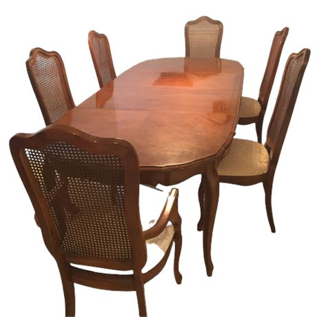 Thomasville French Provincial Dining Set