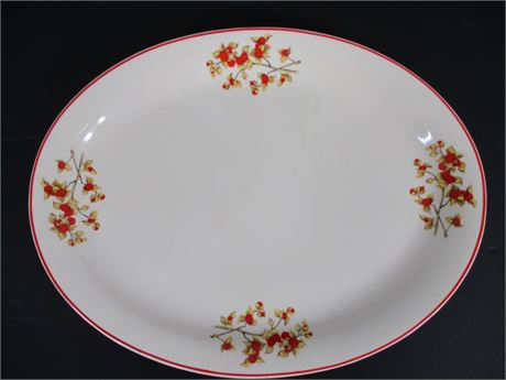 Universal Cambridge Pottery Oval Platter