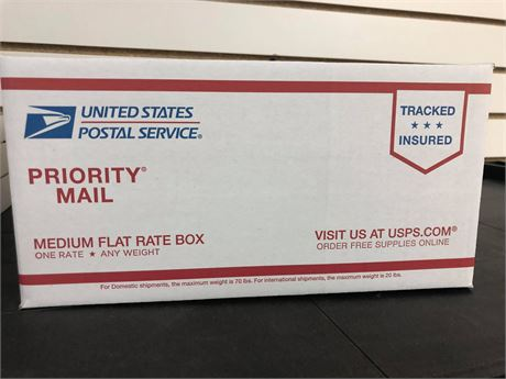 MYSTERY , MEDIUM FLAT RATE BOX FILLED WITH CARDS: STARS, ROOKIES, INSERTS & MORE