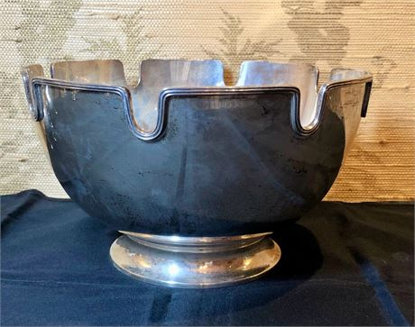 Tiffany & Co Sterling Silver Monteith Bowl