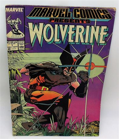 Issue 1 comic book WOLVERINE
