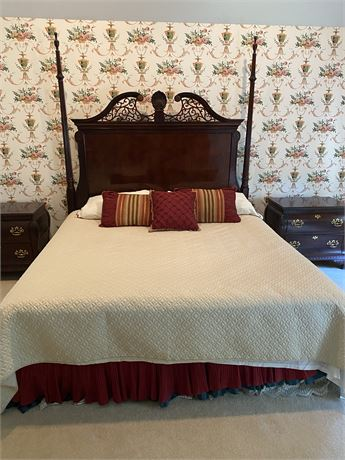 Century Chippendale King Bed