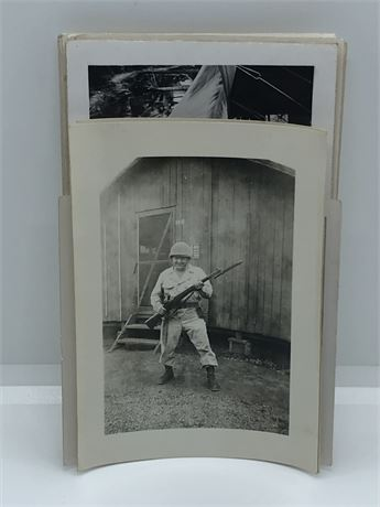 WW2 one of a kind Military Photos US Military GI's in Japan & Philippines