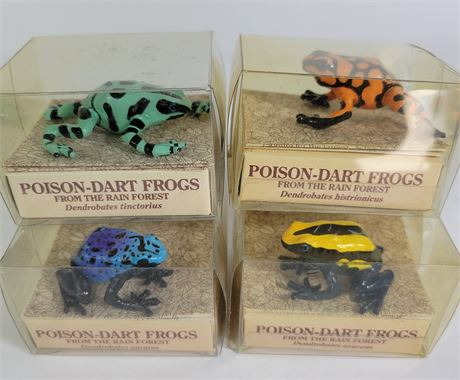 Poison-Dart Frogs Set of 4