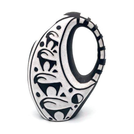 "Marianne Starck ""Tribal"" Series Vase No. 5550"
